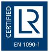 Logo EN 1090-1 (blue)